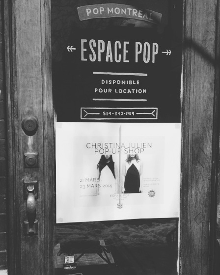 Christina Julien / Pop-Up